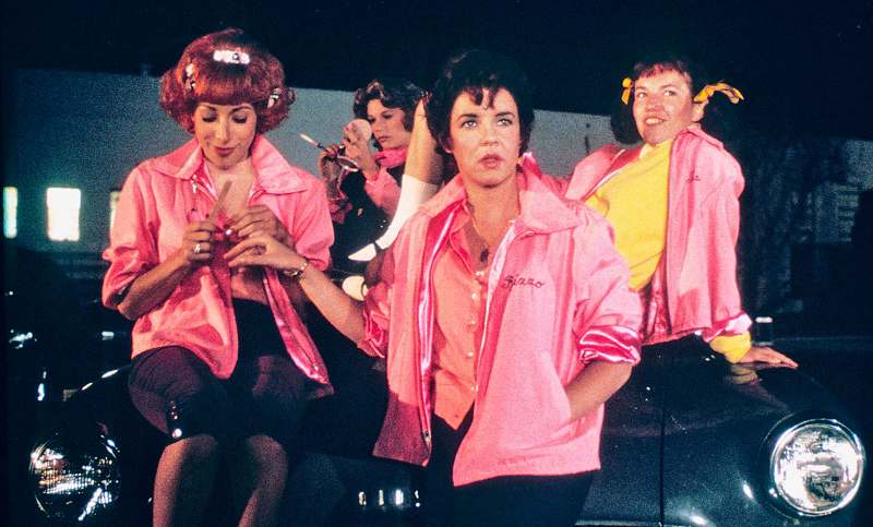 The Pink Ladies Grease