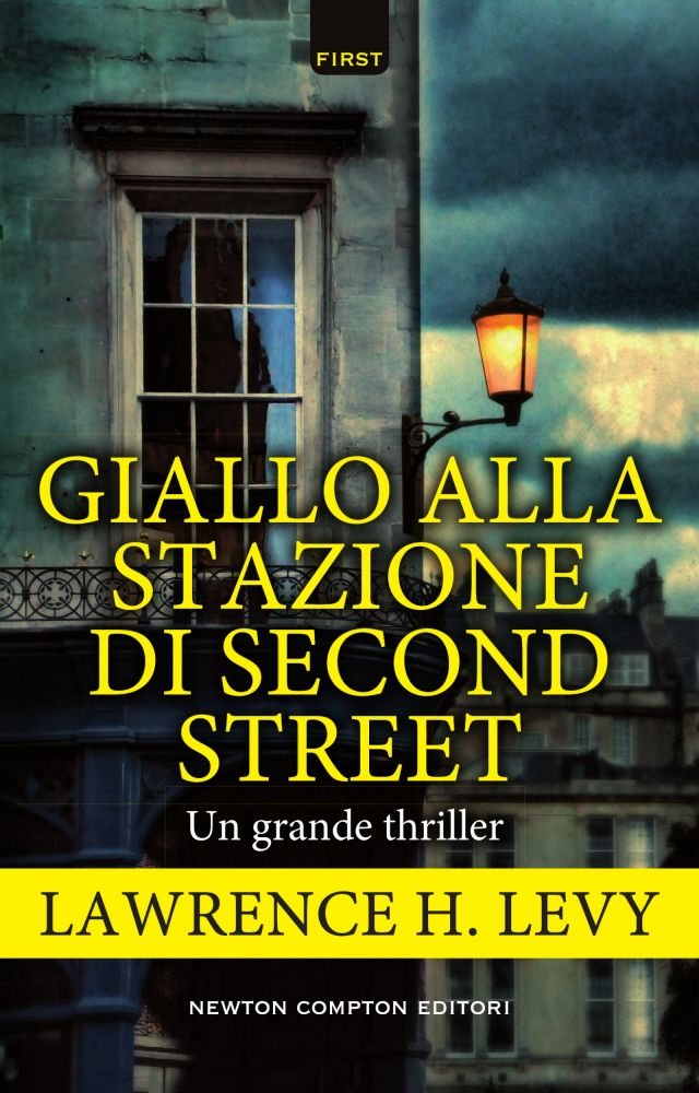 Giallo alla stazione di second street-copertina
