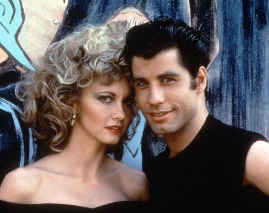 John Travolta e Olivia Newton-John Grease