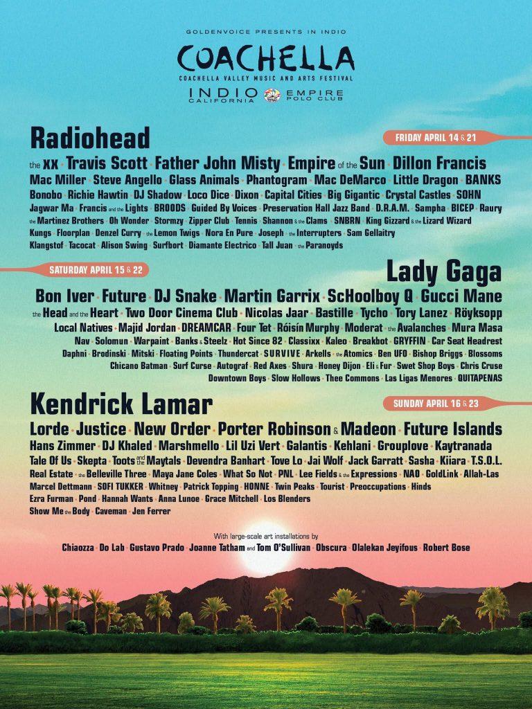 Programma Coachella