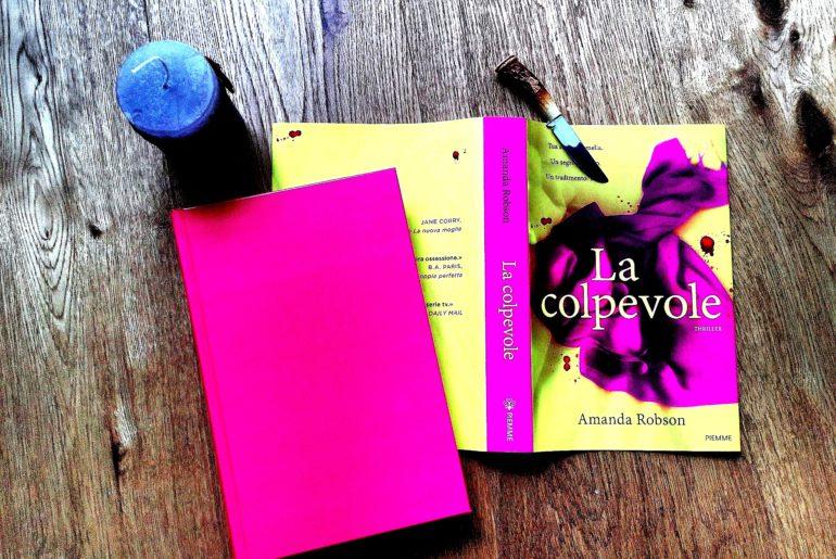 LA COLPEVOLE – Amanda Robson